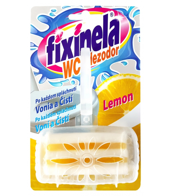 Fixinela WC dezodor 50 g Lemon
