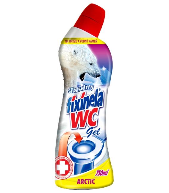 FIXINELA WC gel – arctic 750 ml