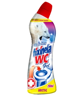 FIXINELA WC gel – arctic 750 ml