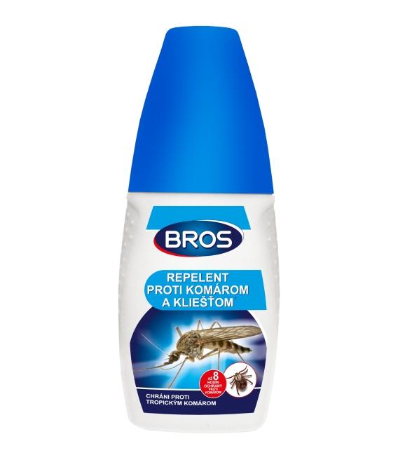 BROS- repelent proti komárom a kliešťom 100ml