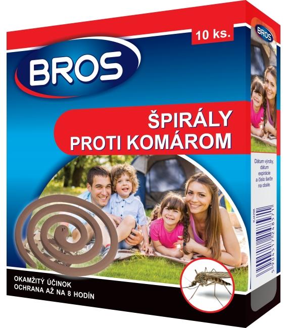 BROS- špirály proti komárom 10ks