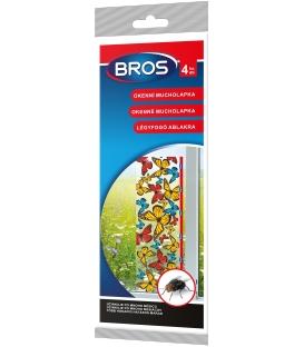 BROS- okenné mucholapky 4ks