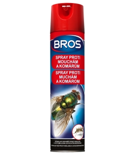 BROS - spray proti muchám a komárom 400ml