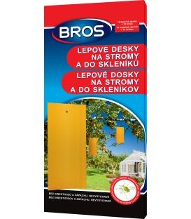 BROS- lepové dosky na stromy a do skleníkov 10ks