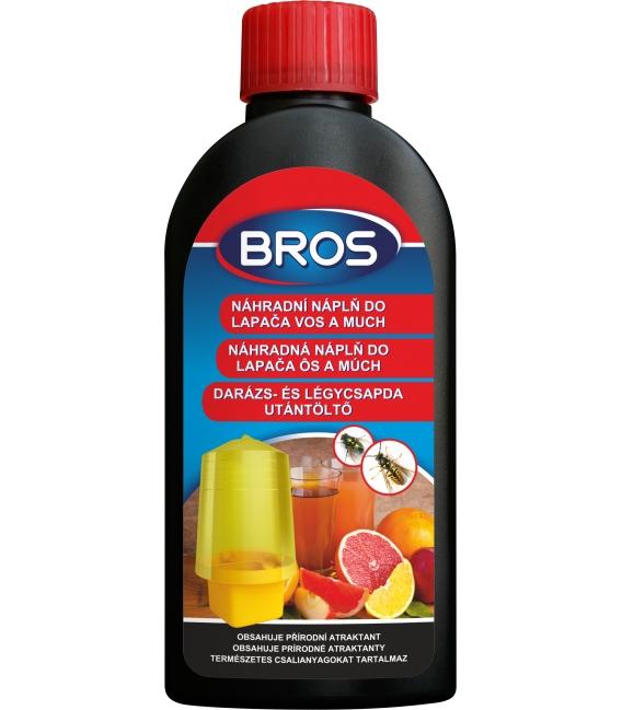 BROS- náhradná náplň pre lapač ôs, sršňov a múch 200ml