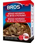 BROS- mäkká návnada na myši a potkany 150g