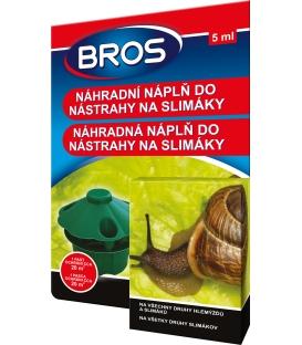 BROS- náhradná náplň do nástrahy  na slimáky 5ml