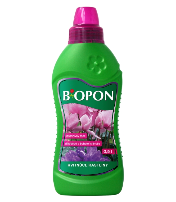 BiOPON tekuté hnojivo na kvitnúce rastliny 500ml