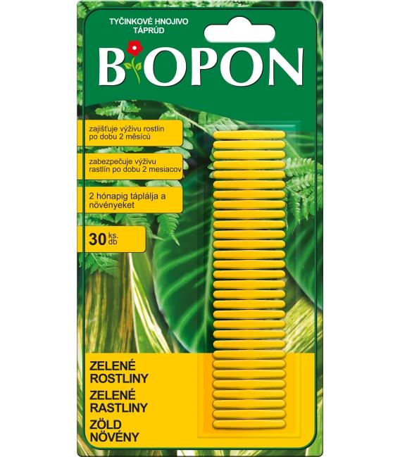 BiOPON tyčinkové hnojivo pre zelené rastliny
