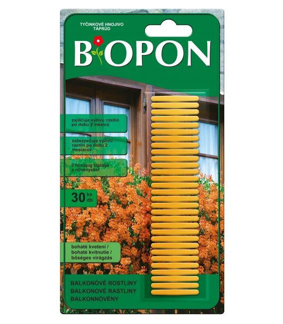 BiOPON tyčinkové hnojivo pre balkónové rastliny