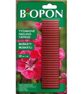 BiOPON tyčinkové hnojivo na muškáty 30ks