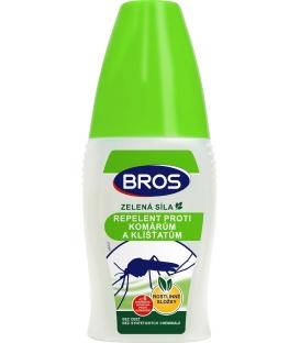 BROS- ZELENÁ SILA repelent proti komárom a kliešťom 50ml