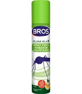 BROS- ZELENÁ SILA spray proti komárom a kliešťom 90ml