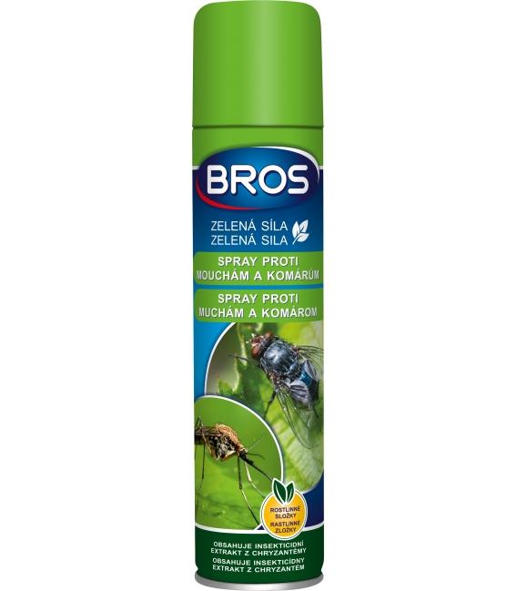 BROS- ZELENÁ SILA spray proti muchám a komárom 300ml
