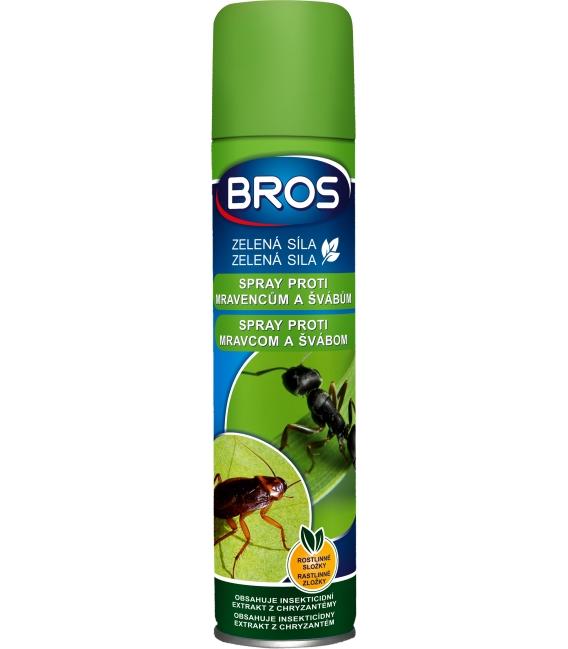 BROS- ZELENÁ SILA spray proti mravcom a švábom 300ml