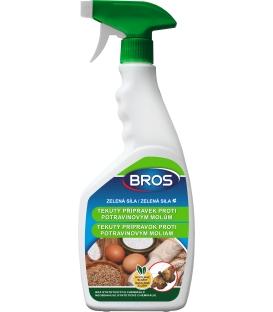 BROS- ZELENÁ SILA tekutý prípravok proti potravinovým moliam 500ml