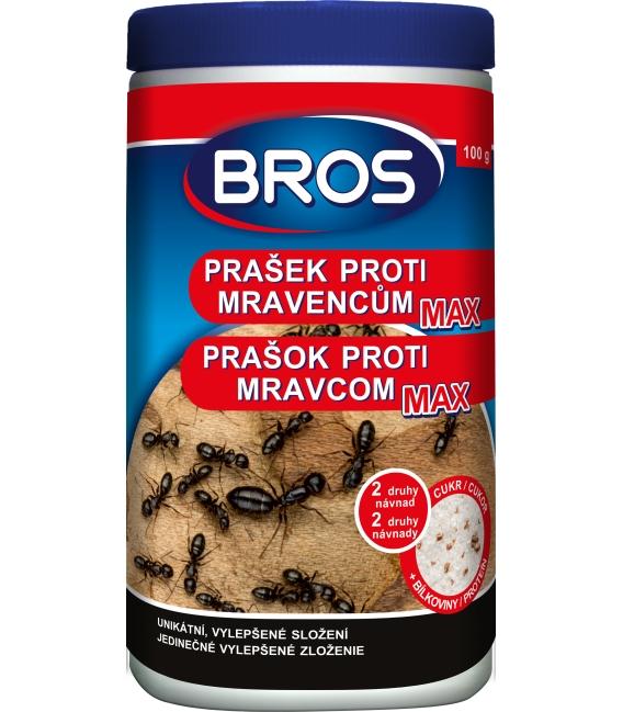BROS- prášok proti mravcom MAX 100g