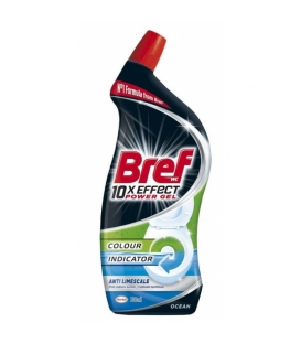 BREF 10 x Effect Power Gel Anti Limescale Ocean 700 ml