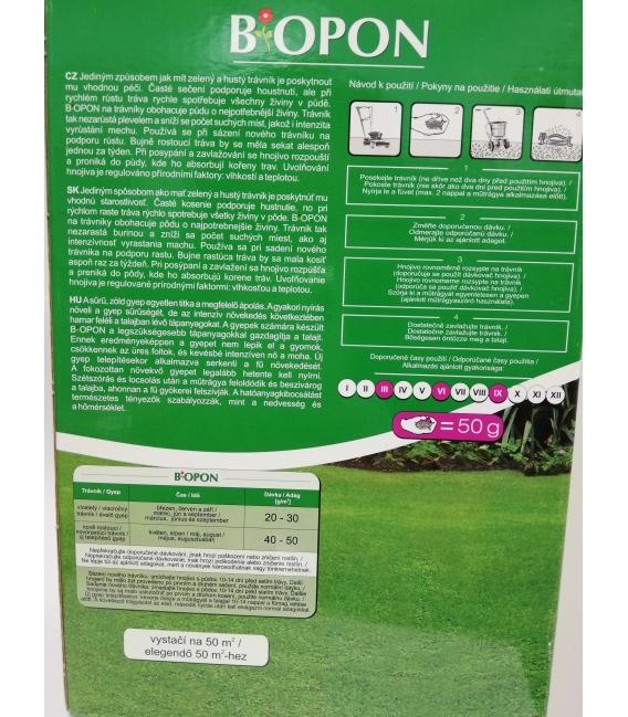 BiOPON granulované hnojivo na trávnik 1kg