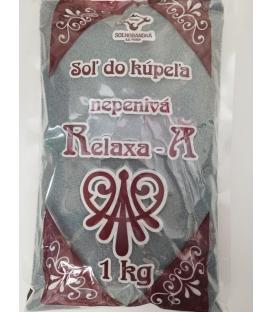 RELAXA nepenivá soľ do kúpeľa mäta pieporná 1kg
