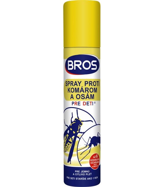 BROS- spray proti komárom a osám pre deti 90ml