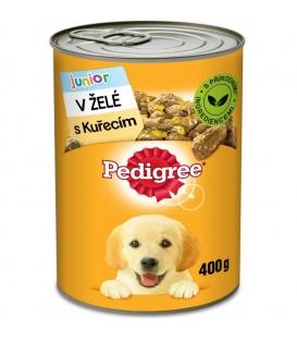Pedigree Junior s kuracím mäsom v želé 400 g