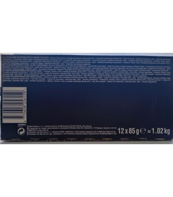 SHEBA hydinový výber v želé kapsičky 12x85g