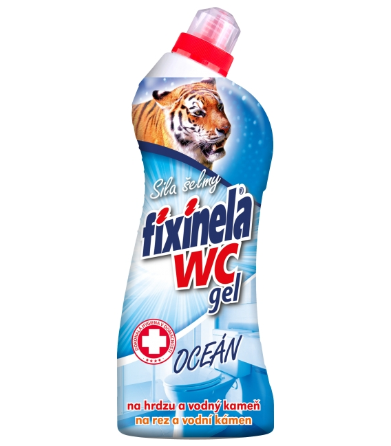 Fixinela WC gel – oceán 750 ml