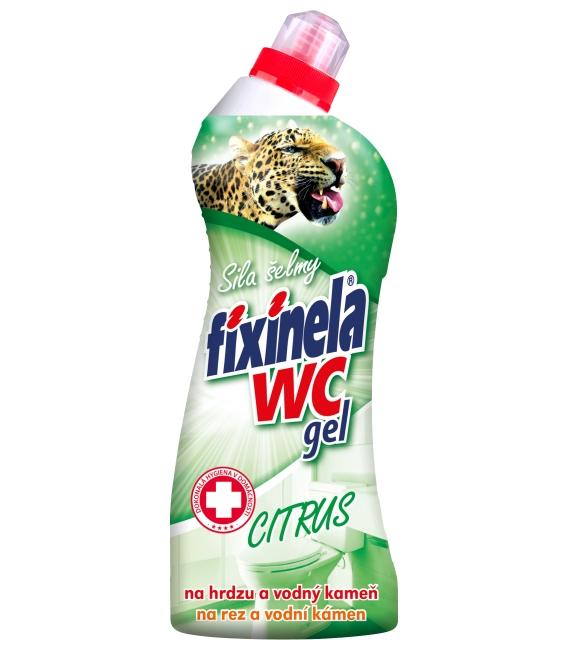 FIXINELA WC gel – citrus 750 ml