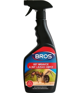BROS 007 mravci a iný lezúci hmyz 500ml