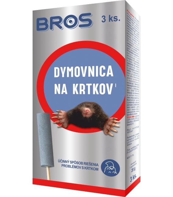 BROS- dymovnica na krtkov 3ks