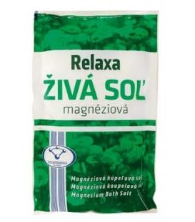 RELAXA Živá soľ magnéziová 500g
