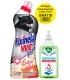 Fixinela WC extra silná 750 ml + dr.happy antibakteriálne mydlo 370ml