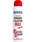 BROS spray proti komárom a kliešťom MAX 90ml