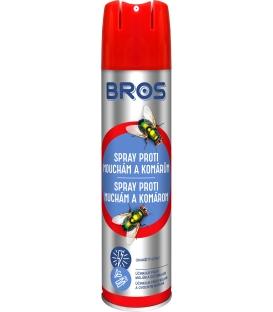 BROS spray proti muchám a komárom 400ml